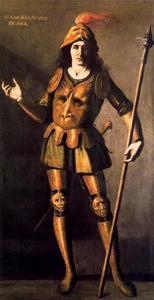 Portret van Alvar Blasquez de Lara