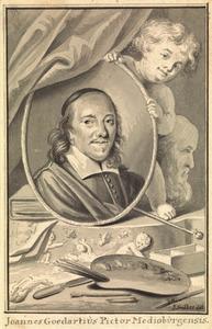Portret van Johannes Goedaert (1617-1668)