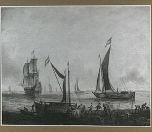 Lossen van schepen