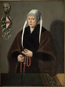 Portret van Josina van Foreest (....-1541)