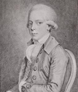 Portret van van Diest