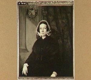 Portret van Johanna Philippina van Herzeele (1777-1858, vrouw van jnkhr. Francois Pierre Guillaume van Schuylenburch