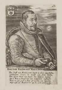 Portret van François Maelson (1538-1602)