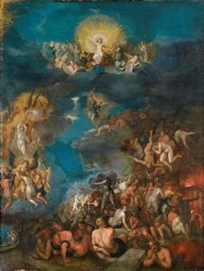 Het Laatste Oordeel (Openbaringen 20: 11-15)