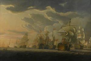 Zeeslag bij Cape St. Vincent, 14 februari 1797