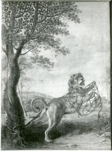 De fabel van de Leeuw en de muis (Aesopus)