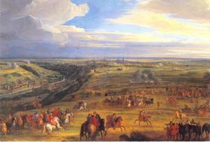 Het beleg van Luxemburg in 1684