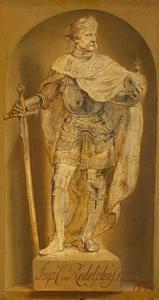 Standbeeld van keizer Rudolf I