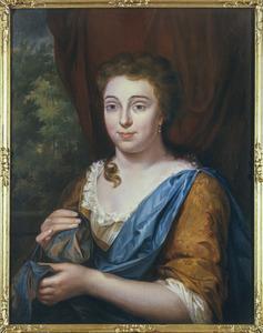 Portret van Francina Vriesendorp (1713-1758)
