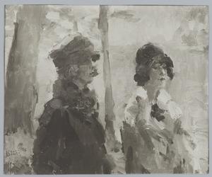 Twee dames in het Haagse Bos
