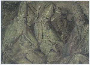 De vier westerse kerkvaders