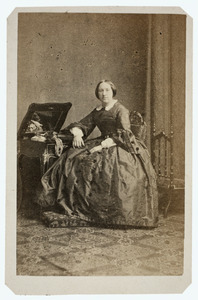 Portret van Johanna Victoire Liotard (1831-1906)