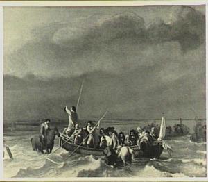 De landing van de stadhouder-koning Willem III in de Oranjepolder (31 januari 1691)
