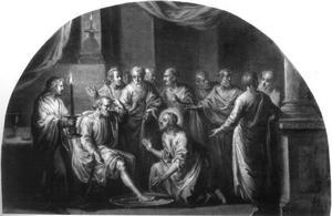 De voetwassing van de H. Petrus (Johannes 13:1-20)