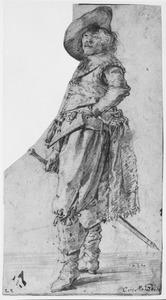 Portret van een Deense edelman