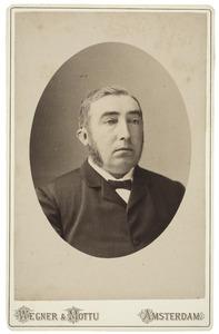 Portret van een man, mogelijk Melchert de Jong (1840-)