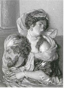 Judith met het hoofd van Holofernes (Judith 8-16)