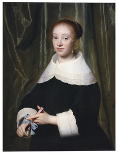 Portret van Esther Bary (1630-1696)