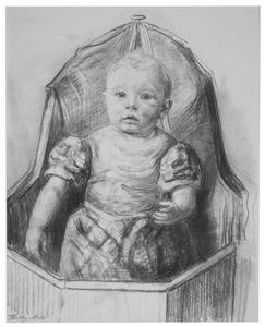 Kind in babystoel