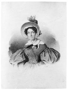 Portret van Constantia Hermina A.M.J. von Quadt Huchtenbrock