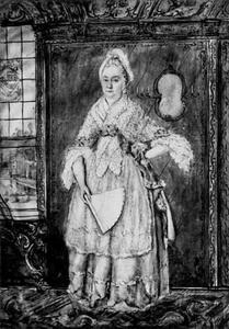 Portret van Michèle Outtelet (...-....)