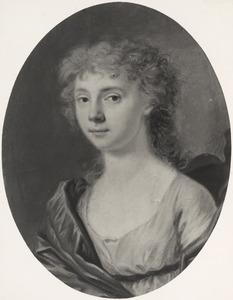 Portret van een vrouw,  waarschijnlijk Zenobie Arnoldine Emilie Barones van Spaen la Lecq (1784-1804)