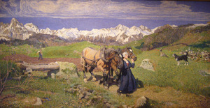 Lente in de Alpen bij Soglio