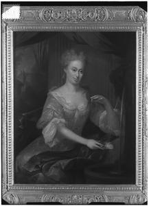Portret van Catharina Wilhelmina van den Honert (1698-1766)
