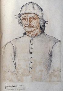 Portret van Jheronimus Bosch (1450-1516)