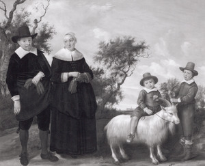 Portret van een familie