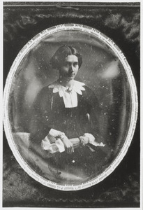 Portret van Maria Johanna Heynsius (1825-1861)