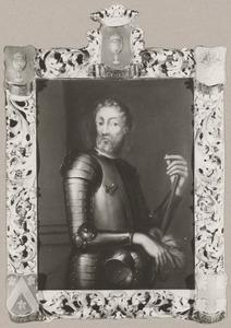 Portret van  een man genaamd Jean XIII Godin (....-....)