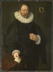 Portret van Paulus Cornelisz. van Beresteyn (1548-1625)