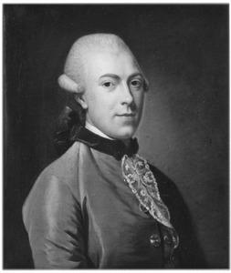 Portret van François Fagel (1740-1773)