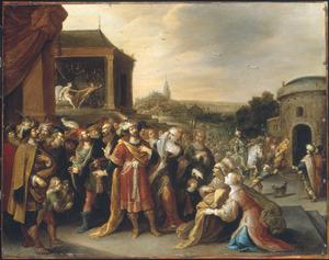 Het verhaal van Jozef en de vrouw van Potifar: de verleiding, de beschuldiging en de gevangenemening (Genesis 39:7-20)