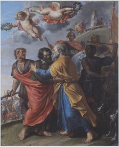 De laatste ontmoeting van de HH. Petrus en Paulus
