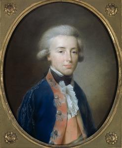 Portret van koning Willem I (1772-1843) als erfprins