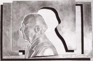 Portret van Adolf Willem Kersjes (1928- )