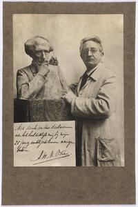 Portret van Arend Willem Maurits Odé (1865-1955)