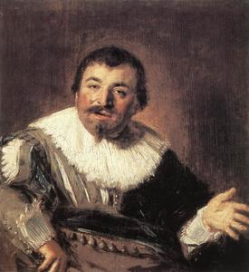 Portret van Isaac Abraham Massa (1586-1643)