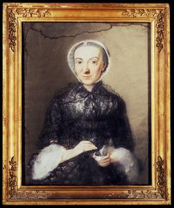 Portret van Elisabeth Noblet ( -1782)