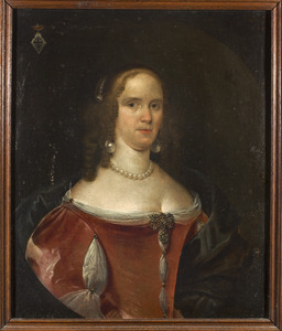 Portret van Johanna Sophia of Euphemia van Uterwijck