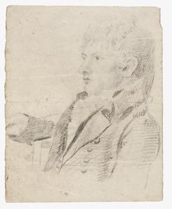 Portret van een man, waarschijnlijk Jonkheer Joan Melchior Kemper (1776-1824)