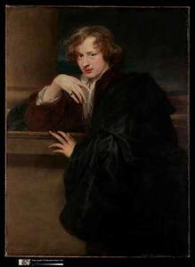 Zelfportret van Anthony van Dyck (1599-1641)