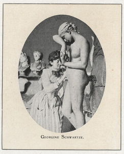 Portret van Georgine Schwartze (1854-1935)