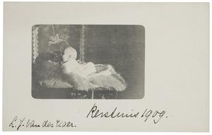 Portret van Laurence Julie van der Haer (1909-1990)