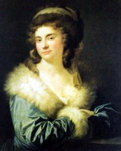 Portret van Julia Potocka, née Lubomirska (1764-1794)