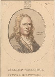 Portret van Gijsbert Verbrugge (1633-1730)