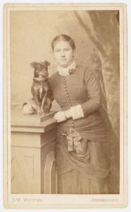 Portret van Jeanne Theodora Henriette Nedermeyer van Rosenthal (1862-1927)
