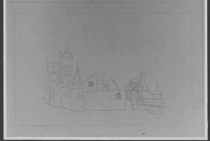 Linker- en voorzijde van Adrichem bij Beverwijk
